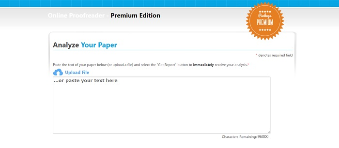 Paperrater interface
